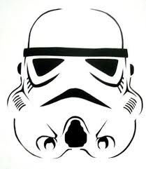 graphic about Stormtrooper Printable called Picture consequence for stormtrooper stencil printable Halloween