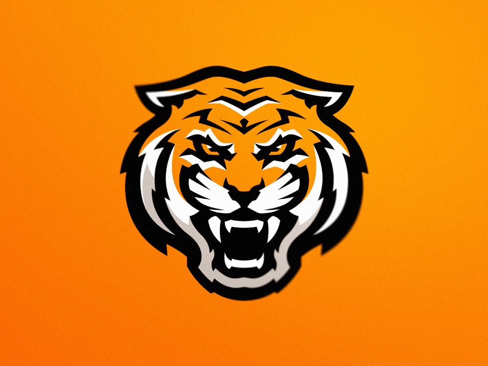 Tiger Pet Logo Design Mascot Design Tiger Head Tattoo
