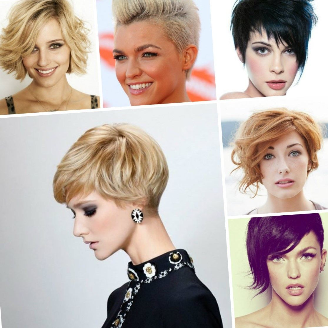 Hairstyles for short hair for fall/winter 2017-2018 are ...
