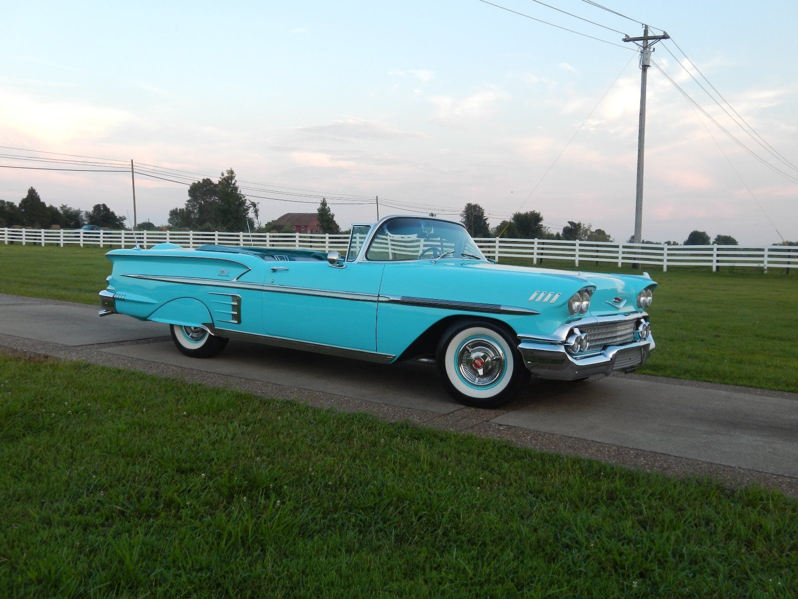 1958 Chevrolet Impala convertible | Old Rides 4 | Pinterest ...