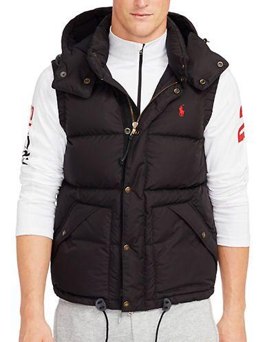 725c3aaf Polo Ralph Lauren Big And Tall Sleeveless Packable Down Vest Men's Pol