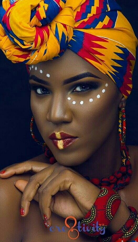 884c7c4d5ff Pinterest @xo.Allyendra | Beautiful Black Girl ✨ | African makeup ...