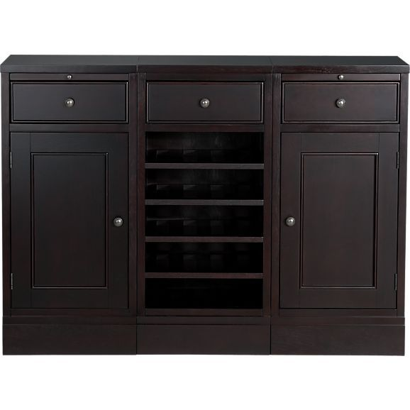 mcallister small buffet in dining kitchen storage crate and rh pinterest com