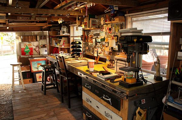 give your work shop your own style garage work shop pinterest werkstatt haus and m bel. Black Bedroom Furniture Sets. Home Design Ideas