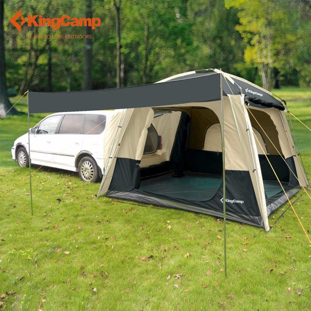 pas cher kingcamp camping tente suffirait de suv de voiture tente pour camping en plein air auto. Black Bedroom Furniture Sets. Home Design Ideas