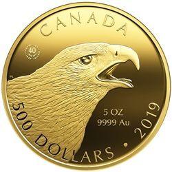 2019 500 Birds of Prey The Golden Eagle  Pure Gold Coin