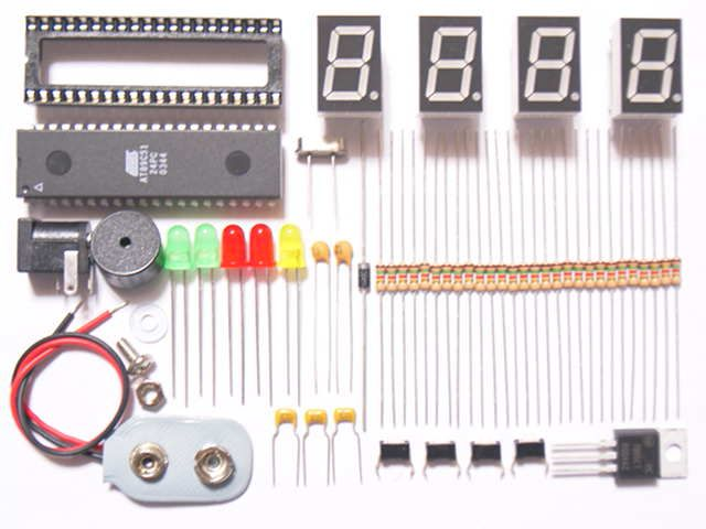 Microcontroller Based Digitalclock Electricals Electronics