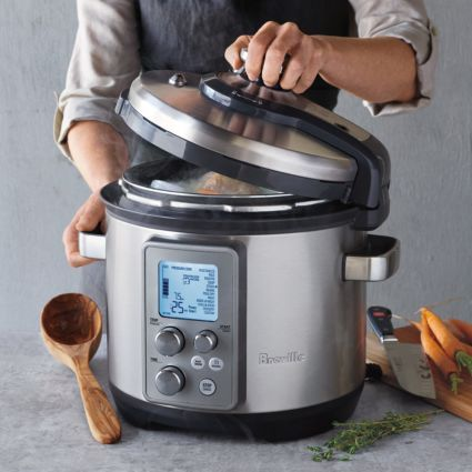 Breville Fast And Slow Pro Multicooker 6 Qt Available At Surlatable Breville Fast Slow Pro Fast And Slow Slow Cooker