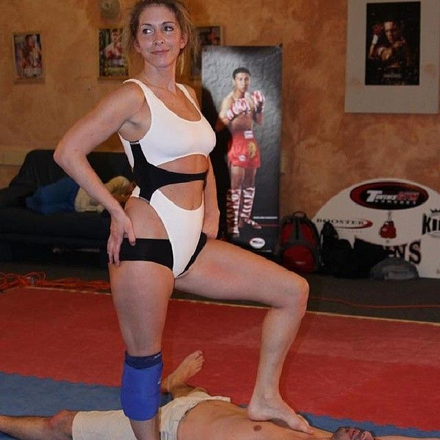 Amateur womengirls wrestling will