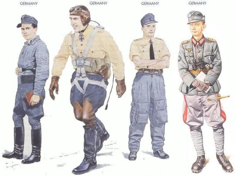 World War II Uniforms - Germany - 1944, Oberst Hermann