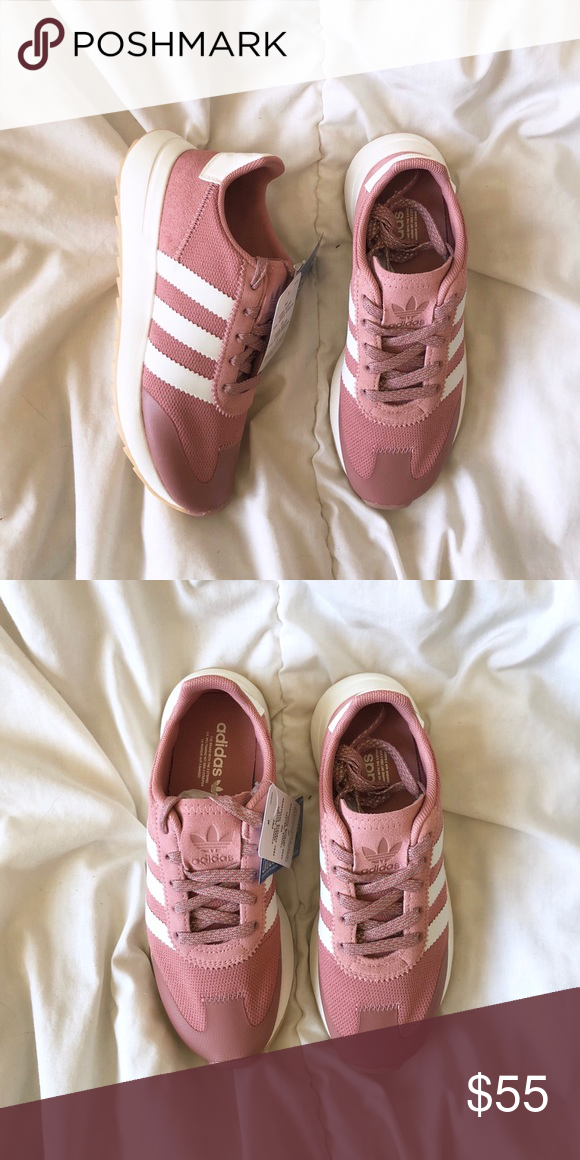 Shoes sneakers adidas, Pink adidas