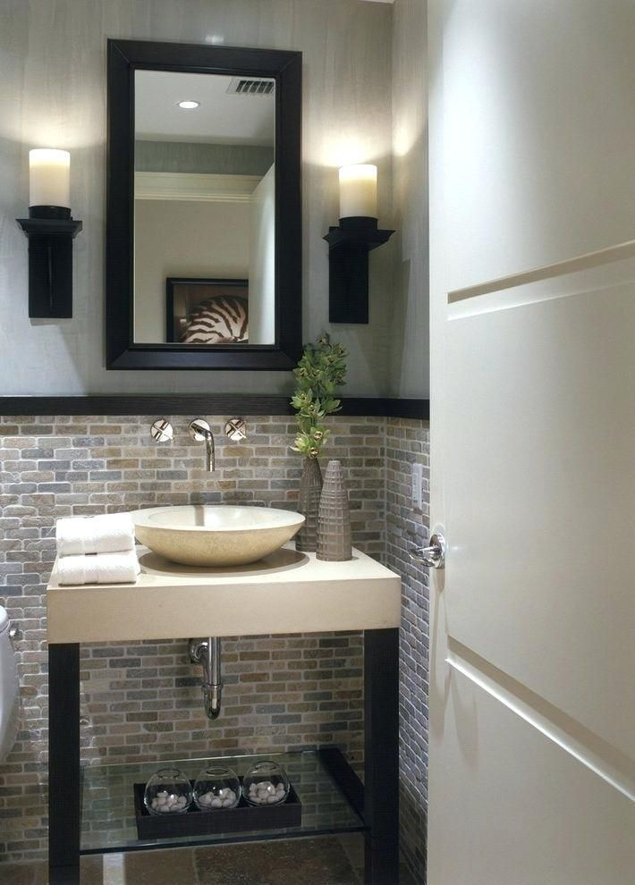 Half Bathroom Ideas From Modern Day To Rustic Uncover The Top 25 Best Half Bathroom Ideas Exp Guest Bathroom Small Small Half Bathrooms Half Bathroom Decor