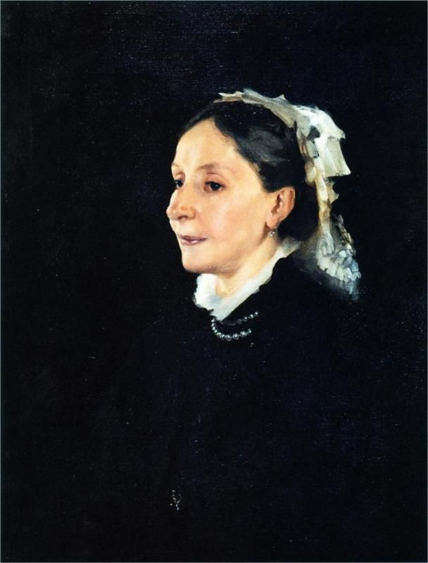 Mrs. Daniel Sargent Curtis, 1882,  by John Singer Sargent