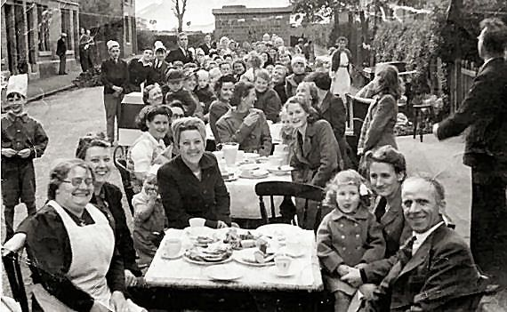 Image result for 1945 VE day Street Parties.