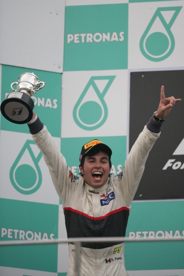 happy Checo (2012 Malaysia) | Sergio perez, F1 drivers