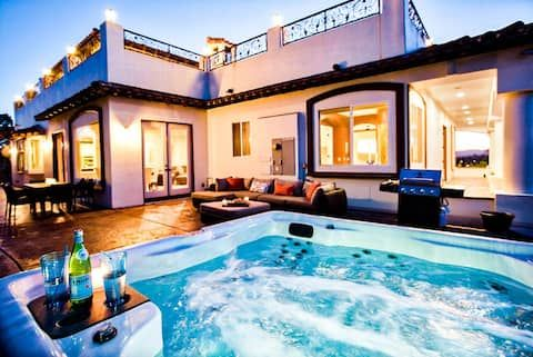 Via Del Sur By Avantstay Private Spanish Villa W Views Walk To Wineries Houses For Rent In Temecula Califo In 2020 Renting A House Spanish Villas House Styles