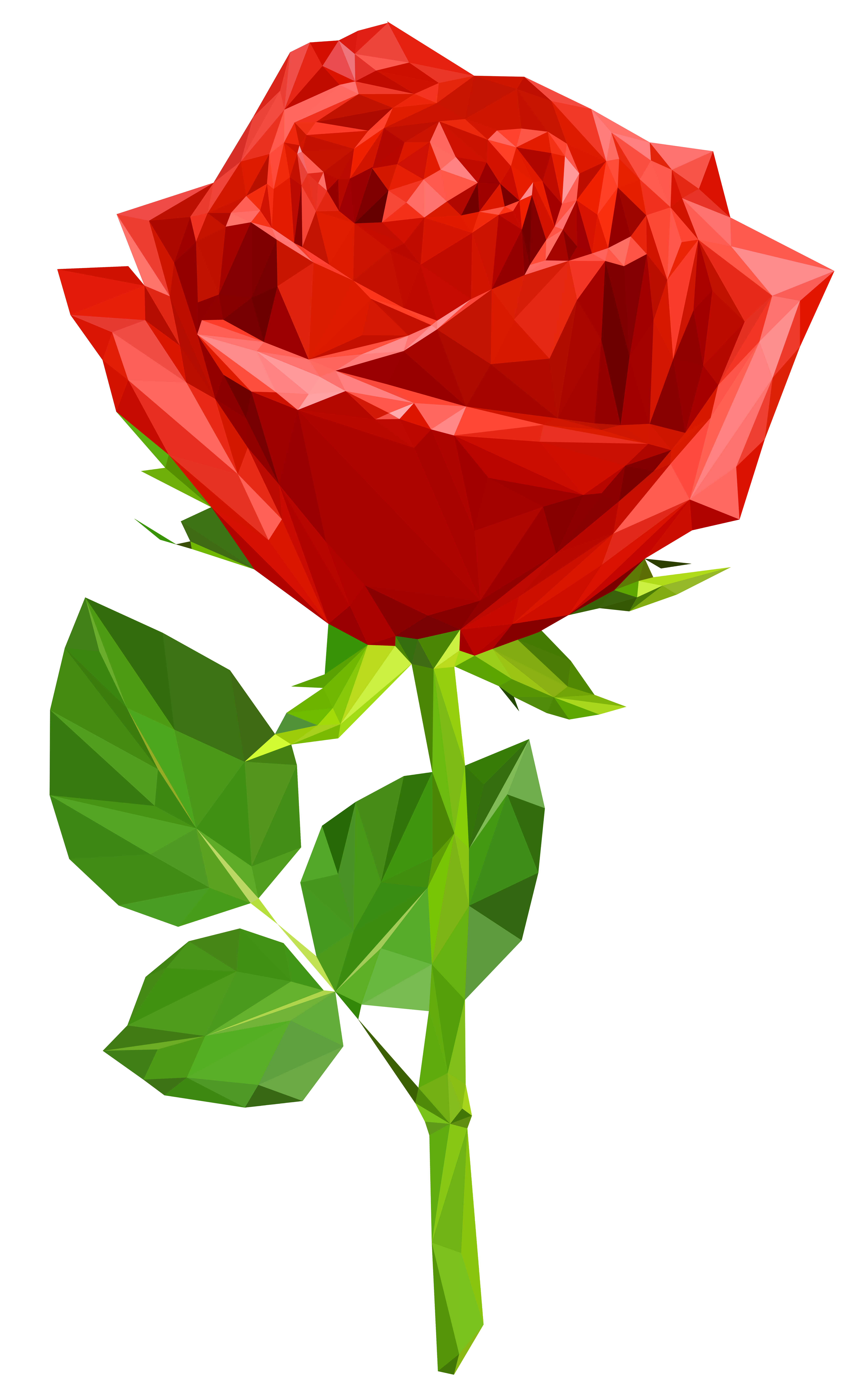 Crystal Red Rose Transparent PNG Clip Art Image Wie man
