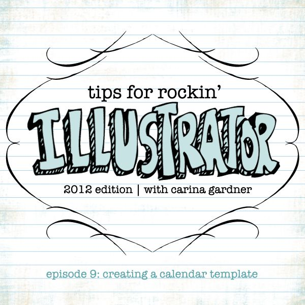 Tips for Rockin\u0027 Illustrator is a series of 20 tutorials to help