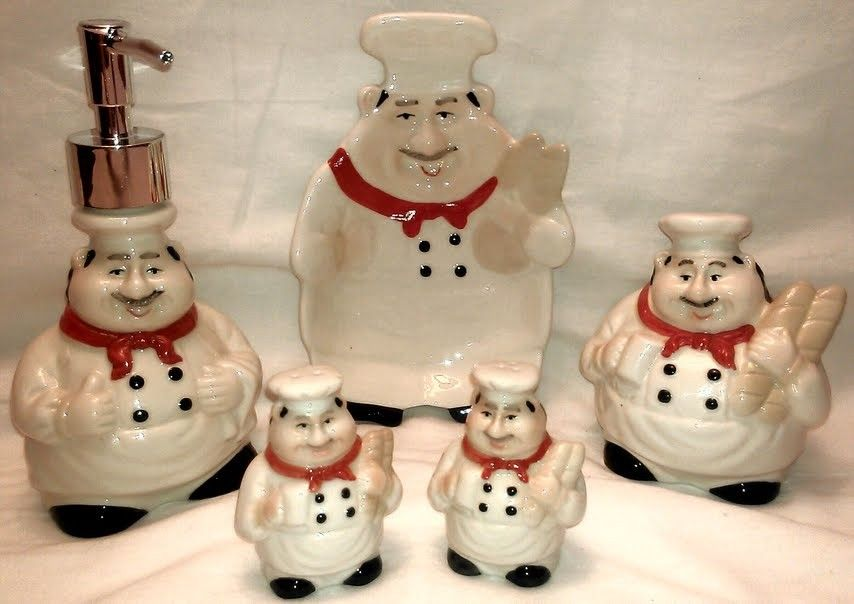 Attractive Cheap Fat Chef Decor