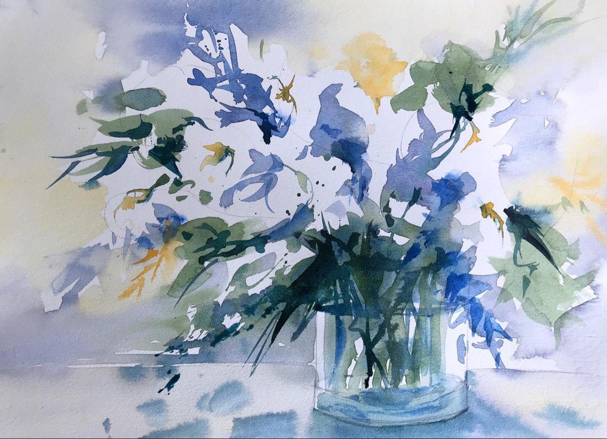 #flowers #watercolor #watercolorart @heidiswatercolors