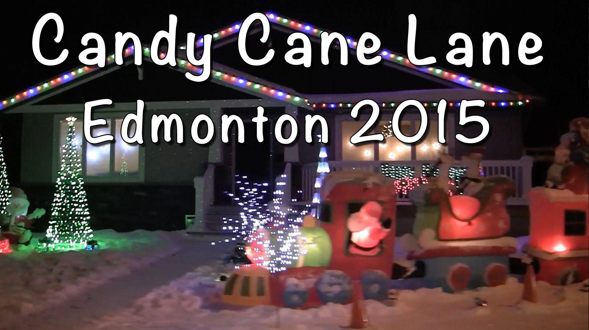 Candy Cane Lane 2015, in Edmonton, AB. Published on Dec 19