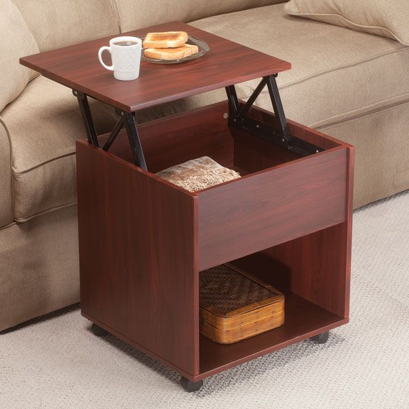 Lift Table Coffee Table: Lift Top End Table By OakRidge Accents™ - Zoom