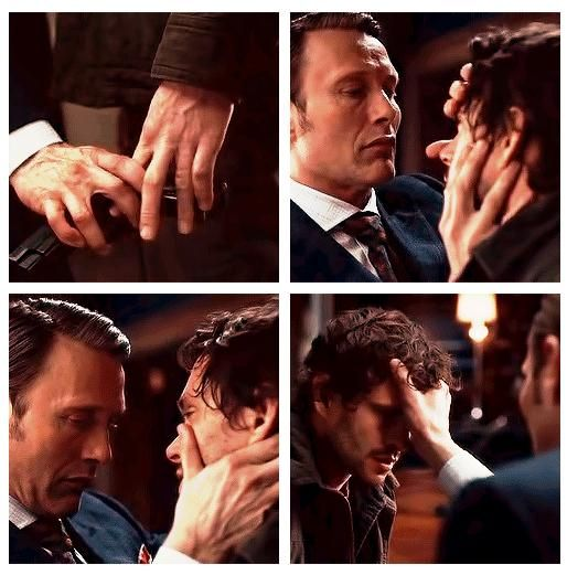 Dr Lecter & Will Graham My new obsession. There is such great chemistry on this show.