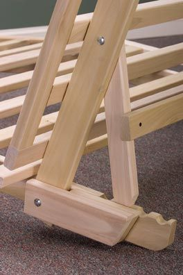 really isn t all that involved in making a simple wooden futon fram sofa frame and the ottoman convert into a spacious trifold futon frame   futon bed frames wooden futon and bed frames  rh   pinterest