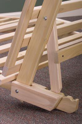 Trifold Futon Frame Framebed Plansfurniture