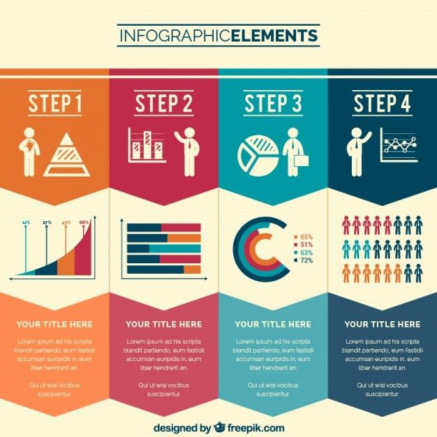 8 Awesome Free Infographic Sets | New #webdesign Posts | Pinterest ...