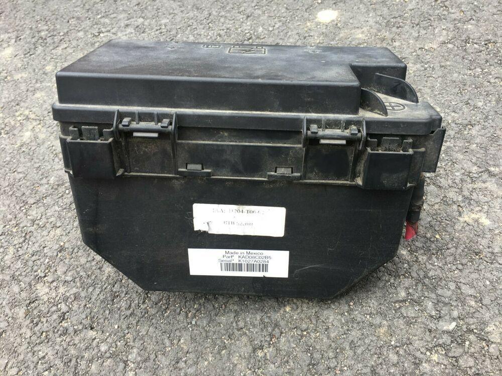 Fuse Box For Dodge Nitro