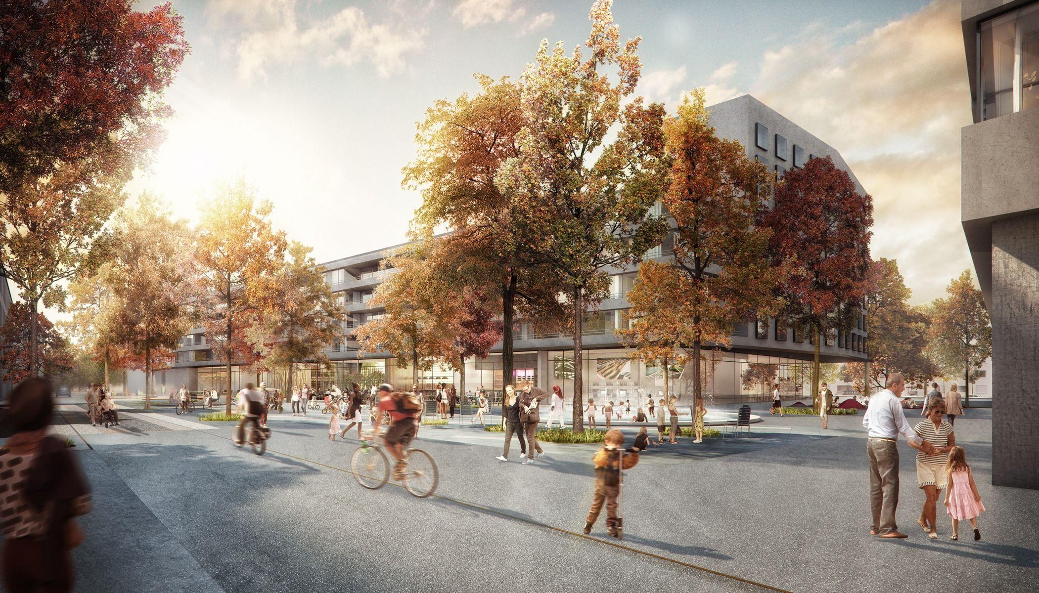 Landschaftsarchitektur München u bahnplatz riem münchen unit price studio vulkan