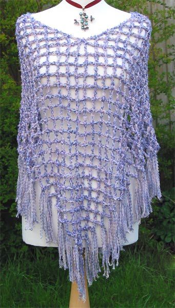 Simple Crochet Poncho Favecraftscom Christmas Crafts Free