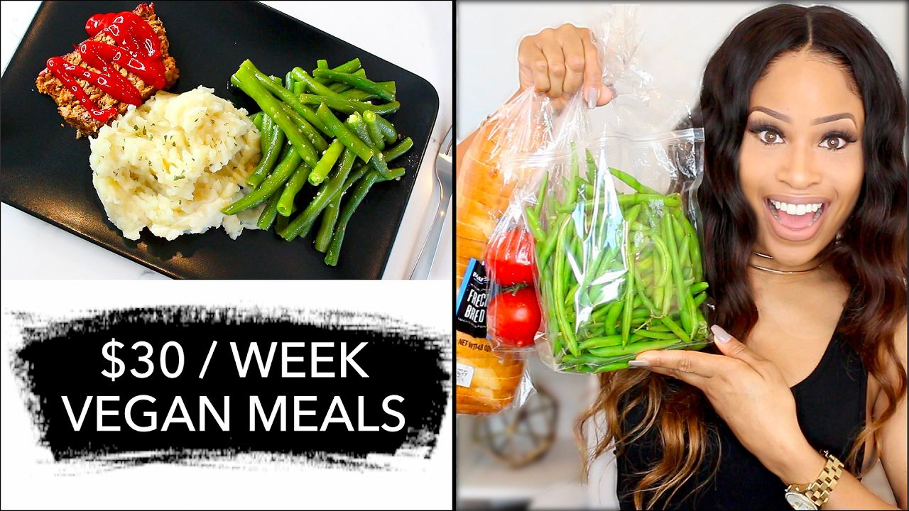 How to eat vegan for only 30 a week grocery haul