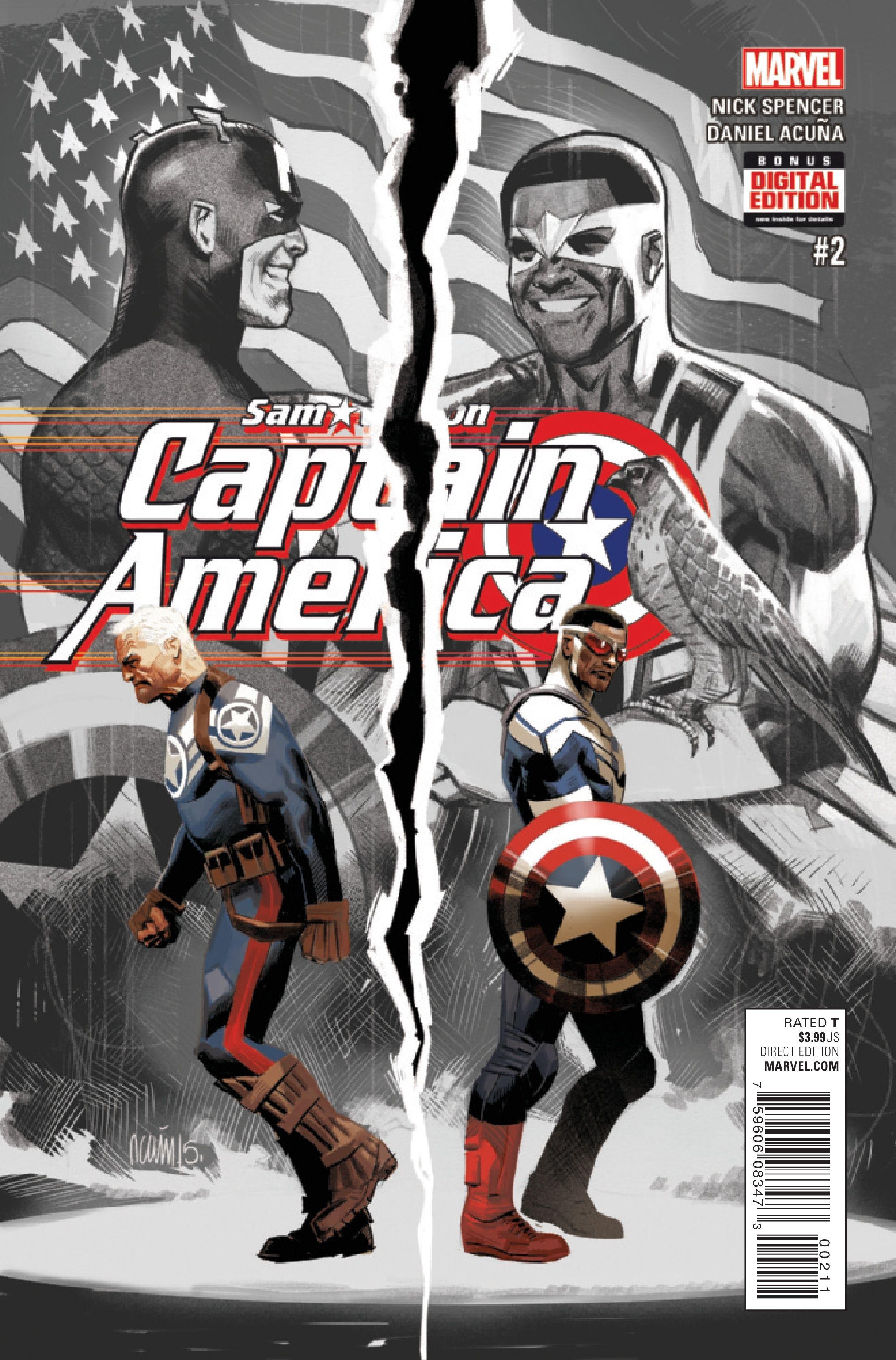 Preview: CAPTAIN AMERICA SAM WILSON #2 - Comic Vine