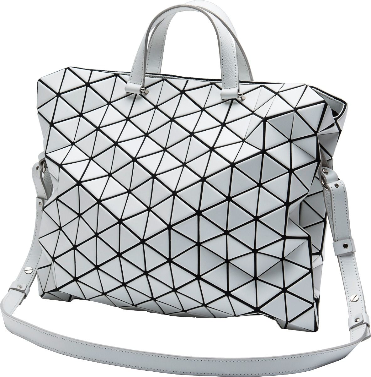TONNEAU BOSTON BAG MATTE LARGE BAO BAO ISSEY MIYAKE  cd5295b529ea8