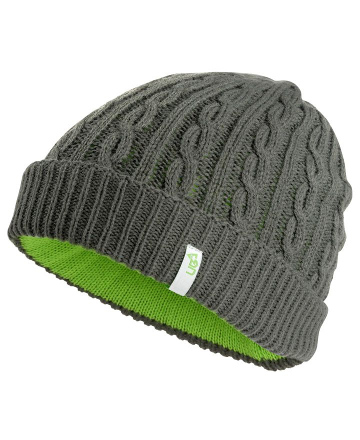 Bind Winter Beanie Hat Purple or Charcoal