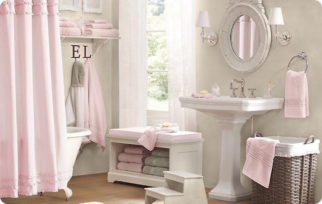Lovely bathroom! Shabby & Charme