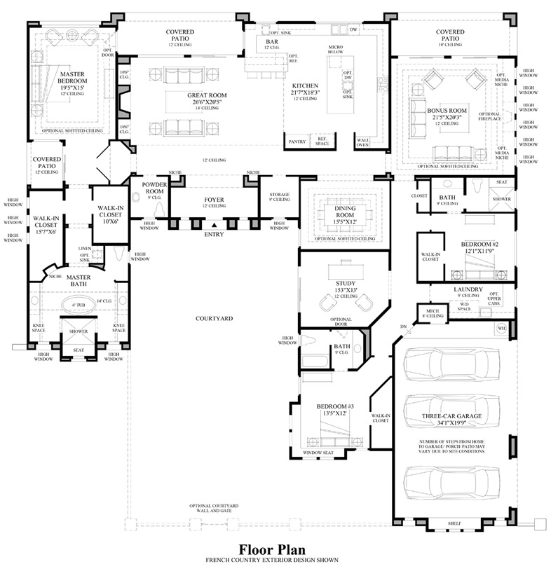 Gilbert Az New Construction Homes By Toll Brothers Toll Brothers At Whitewing Offers 5 Home Designs With Lu Modern Floor Plans House Floor Plans Luxury Homes