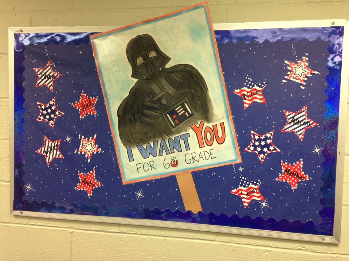Classroom Decor Stars : Star wars bulletin board my classroom things pinterest