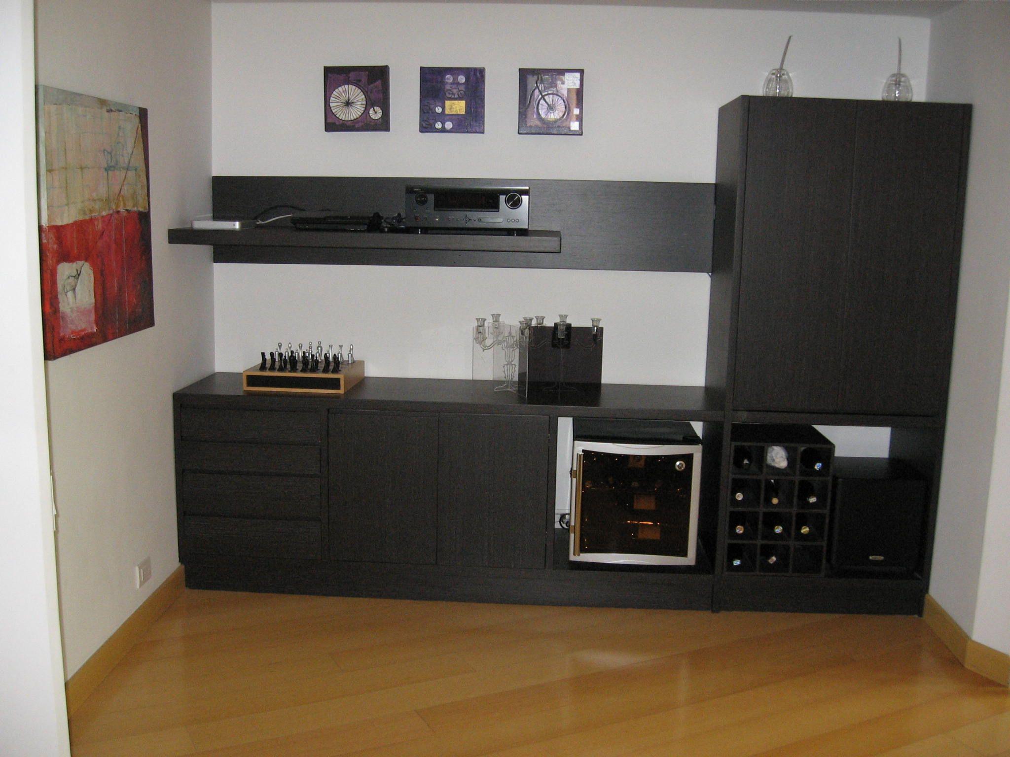 mueble bar roble negro | TRABAJOS REALIZADOS | Pinterest | Mueble ...