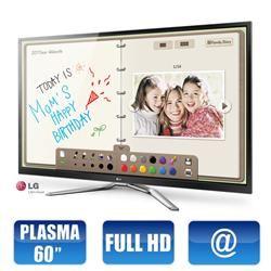 Smart TV Plasma 60` 3D LG Pentouch 60PM6900 - Full HD HDMI USB DTV DLNA Wi-fi Integrado Magic Remote 600Hz