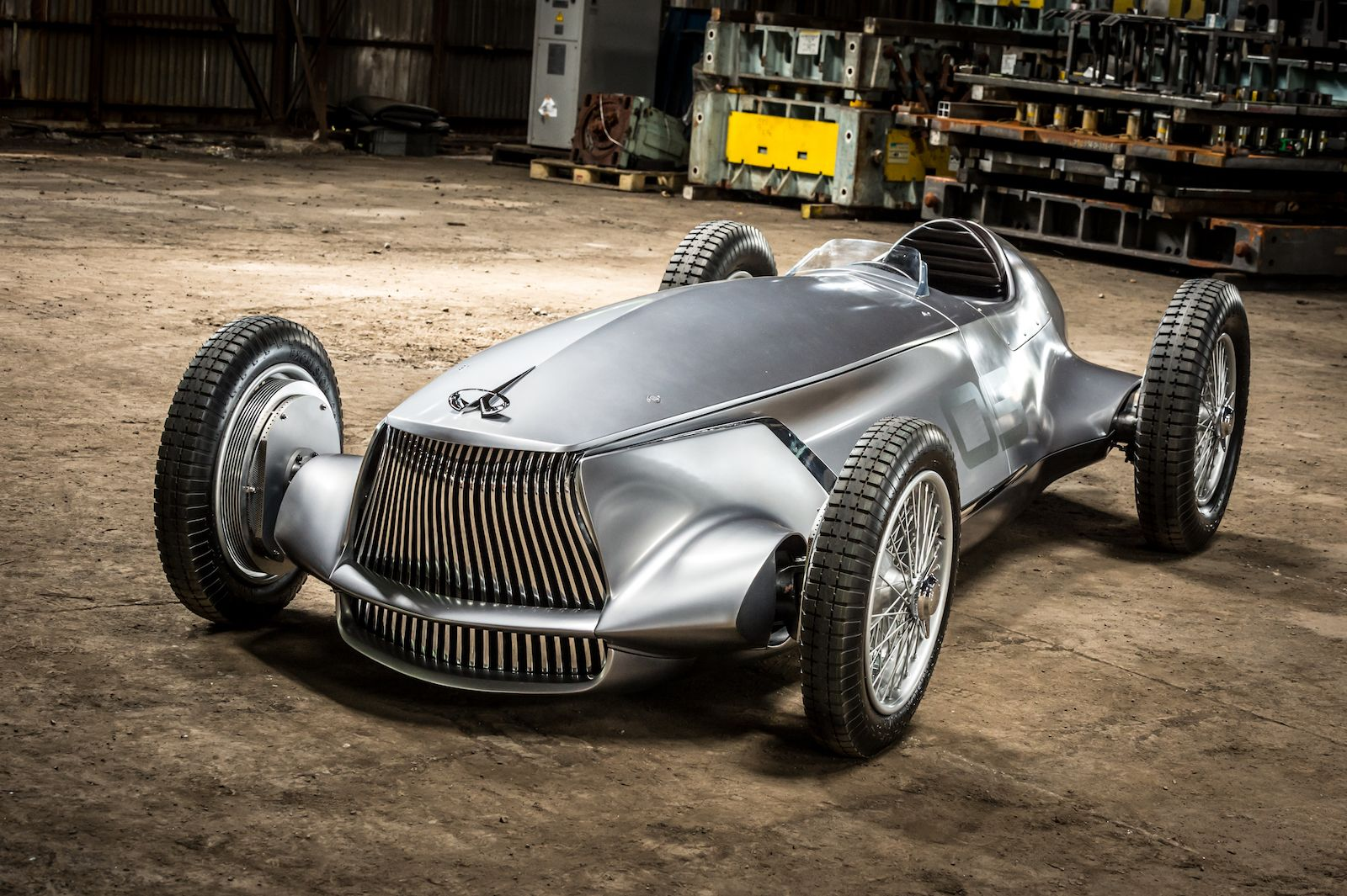 Infiniti Reveals Vintage Inspired Prototype 9 Concept Car Design