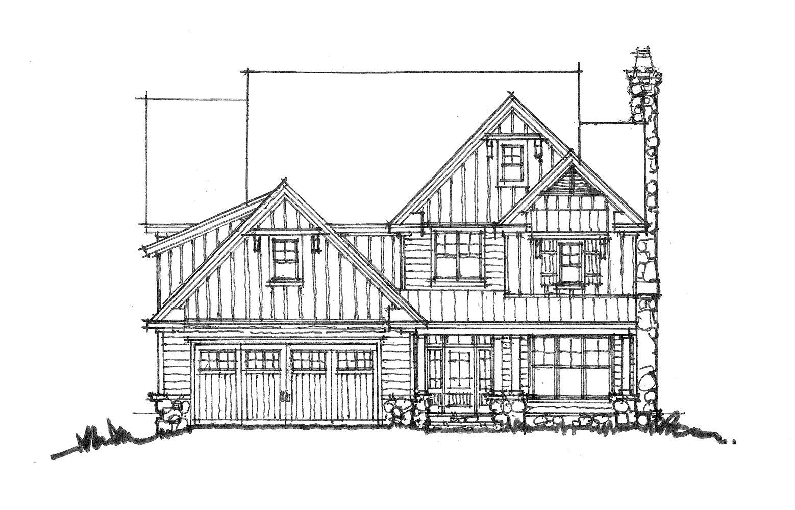Conceptual House Plan 1457 Urban Farmhouse Urban