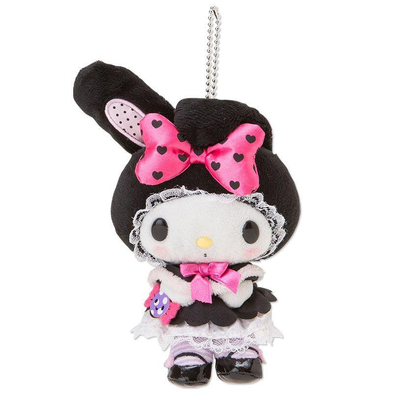 My Melody Mascot Charm Boa Plush Doll Key Chain Halloween 2014 SANRIO JAPAN