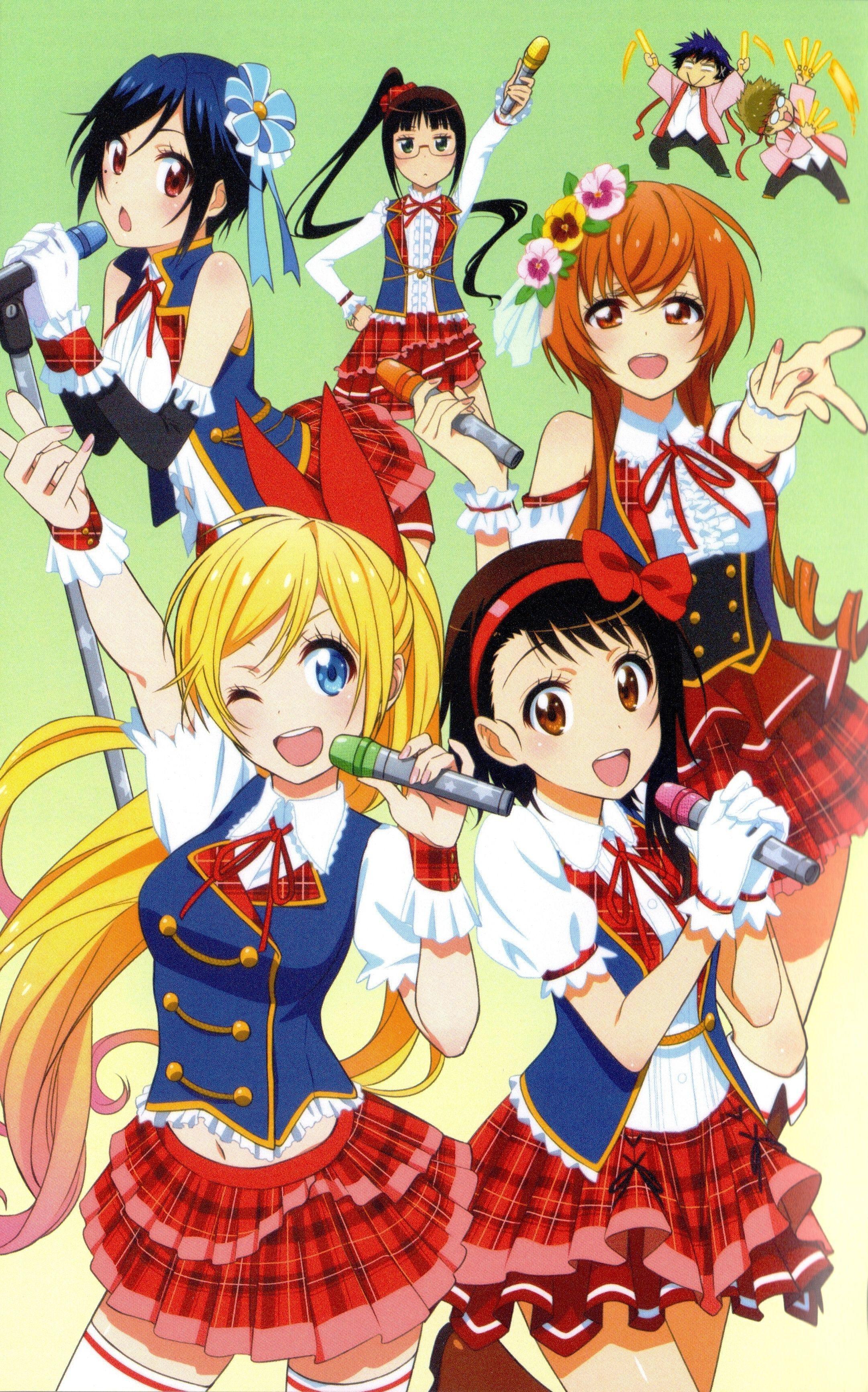 Nisekoi 1837704 Nisekoi Nisekoi Chitoge Nisekoi Manga Anime nisekoi mobile wallpaper