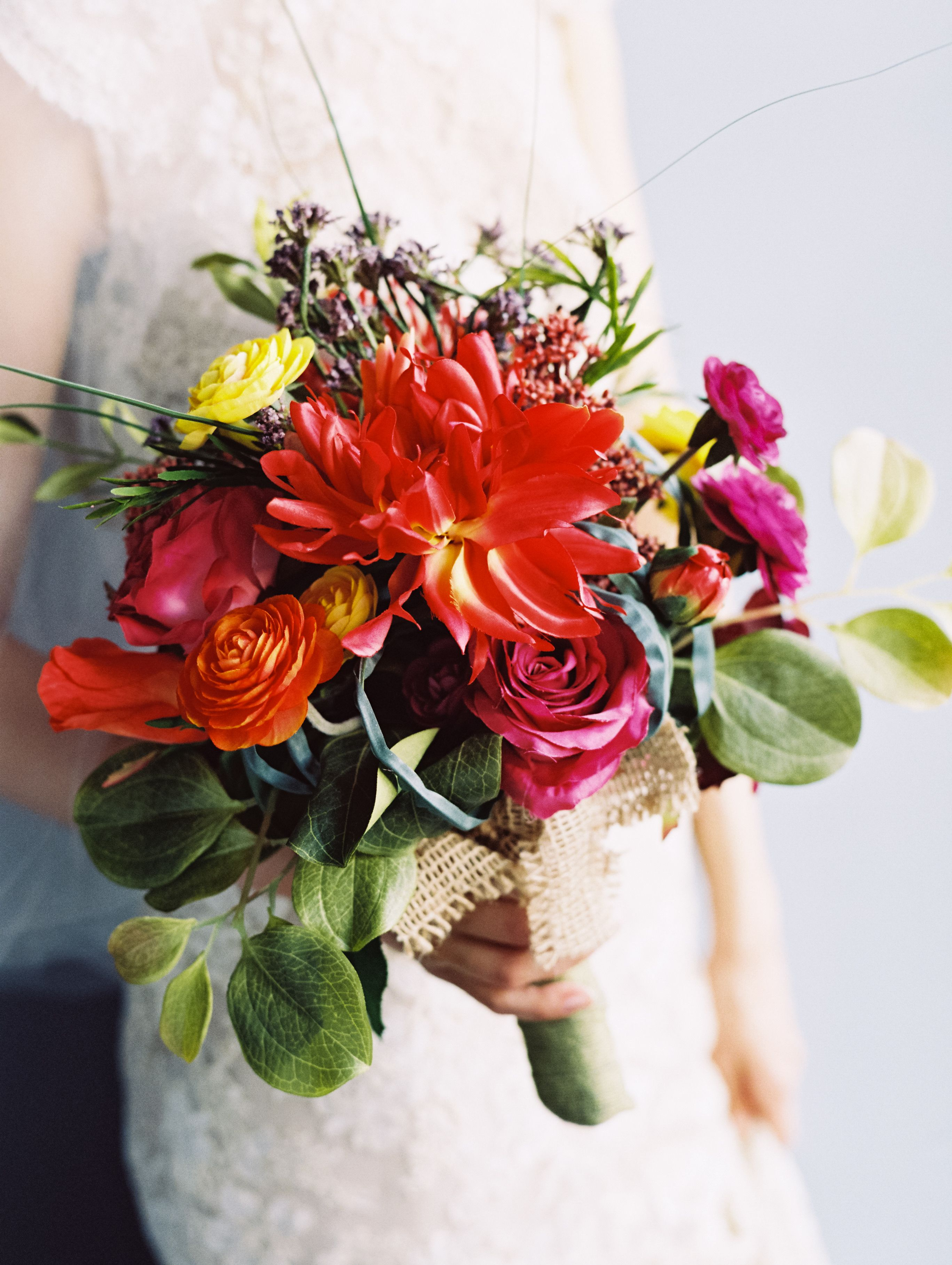 The Tropical Bouquet Is A Chic Destination Wedding Arrangement Of