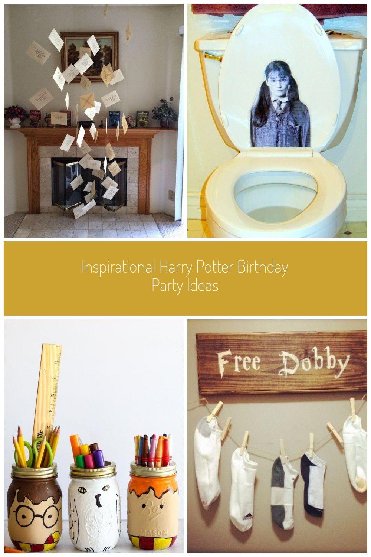 harry potter dekoration