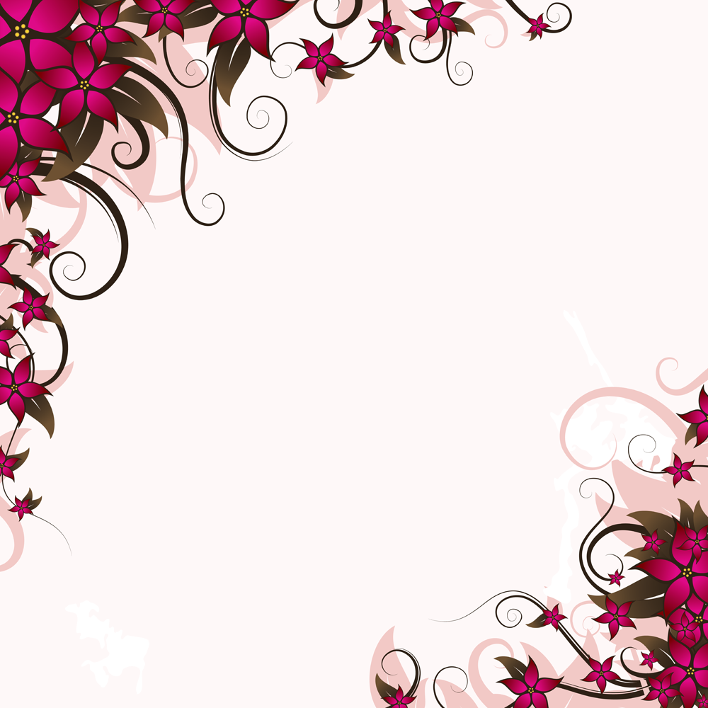 vector floral  Border DesignDecorative ...