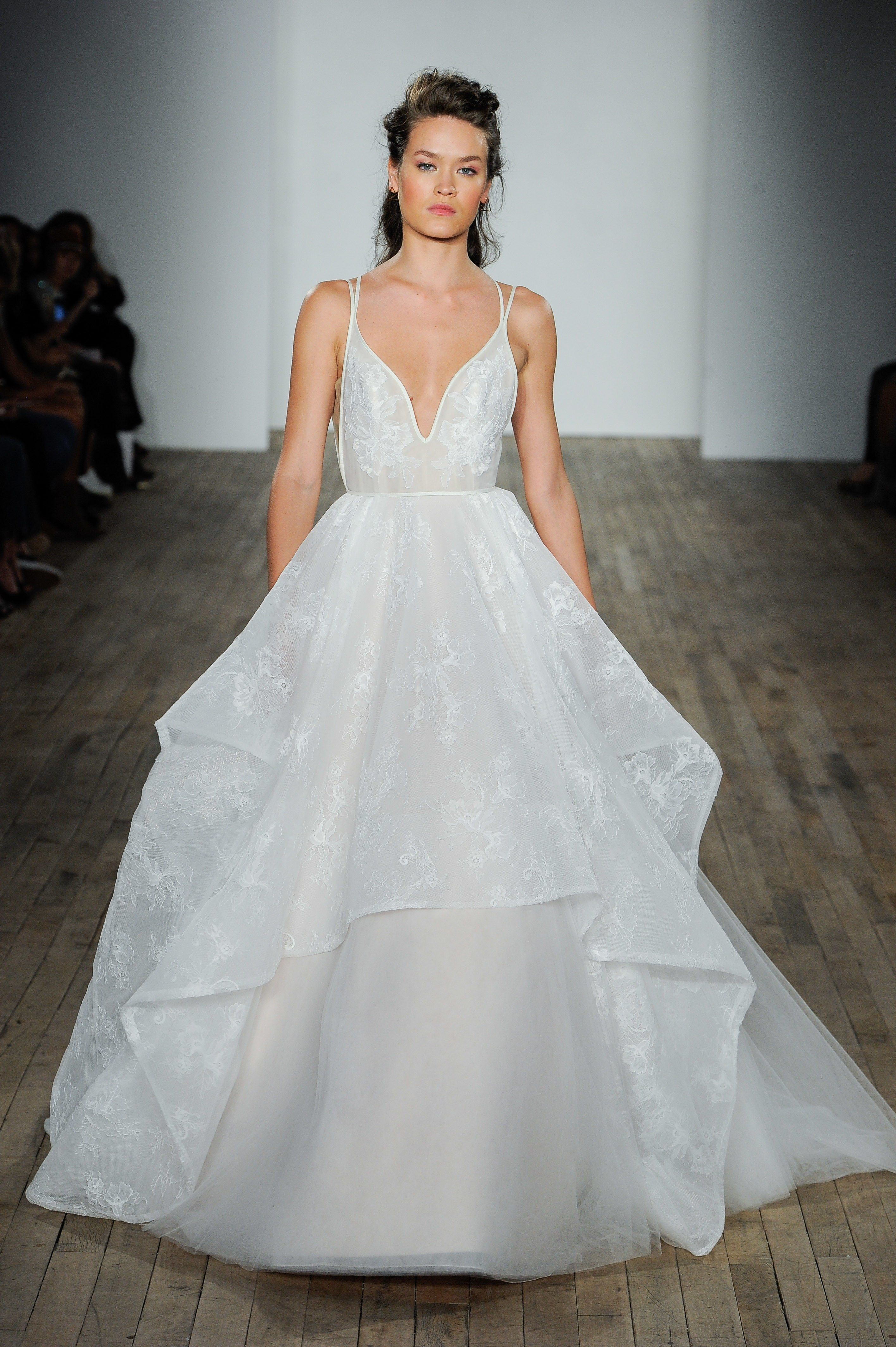 How much are hayley paige wedding dresses  Hayley Paige Bridal u Wedding Dress Collection Fall   Brides